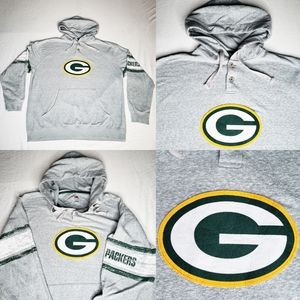 Green Bay Packers NFL Majestic Hoodie Sweater XL